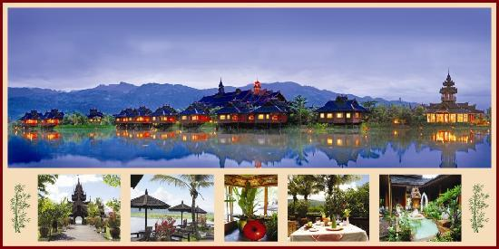 Inle Resort & Spa: Different points of the Resort
