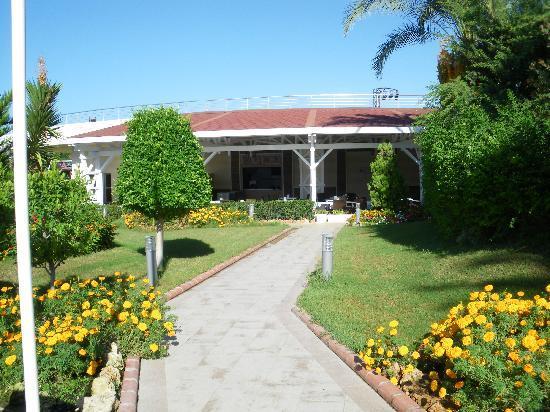 Crystal Admiral Resort Suites & Spa: Gepflegte, grüne Anlage