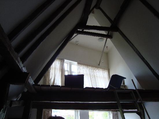Inn old Amsterdam: upstairs