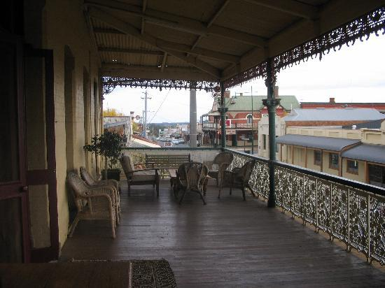 The Victoria Hotel : Photo from the Balcony