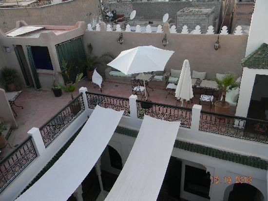 Riad Baba Ali: roof terrace