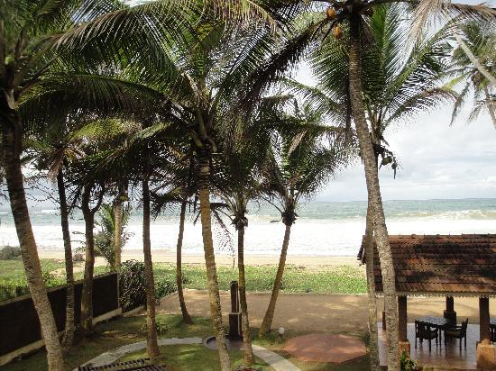 Suite Lanka: View from balcony