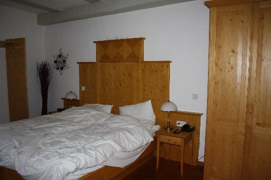 Schloss Thurnau: Unser Zimmer im Erdgeschoss des Henkershauses