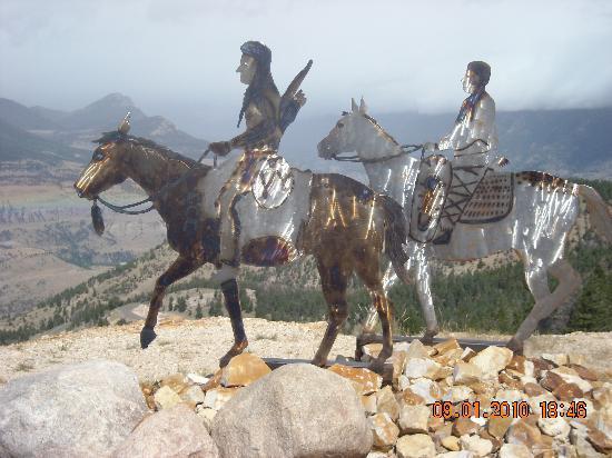 Chief Joseph Scenic Highway: Dead Indian Summit Monument