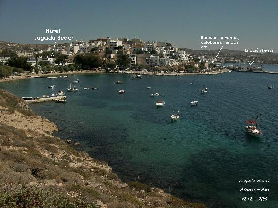 Lagada Beach Hotel  Ef Bf Bd Milos