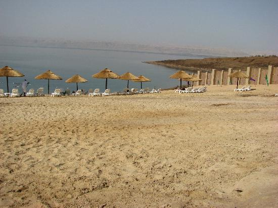 Holiday Inn Resort Dead Sea: Private beach