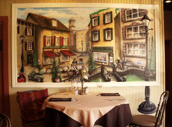 West Plains Bistro: Painting by owner of Bistro