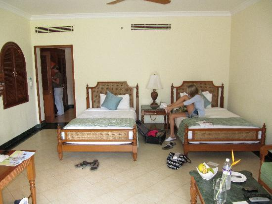 Taj Exotica Goa: spacious rooms