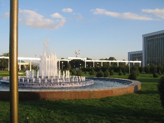 Lotte City Hotel Tashkent Palace: Plenty of water