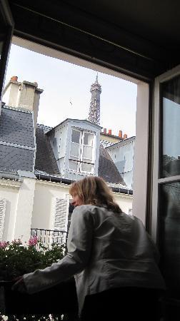 Hotel de Londres Eiffel: Wow!