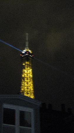 Hotel de Londres Eiffel: How nice!  From our room.