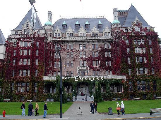 Victoria, Canada: The Empress - die 1. Wahl der Hotels
