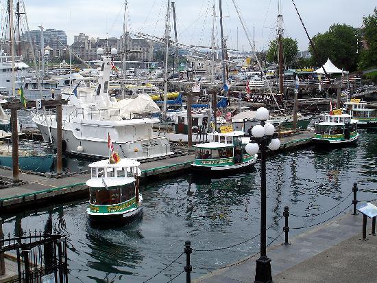 Victoria, Canada: Die Hafenfähren