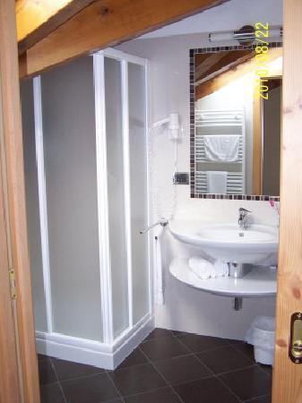 Dimaro, Italien: Bagno con box doccia