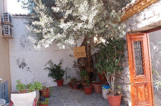 Alkionides Pension: The hotel