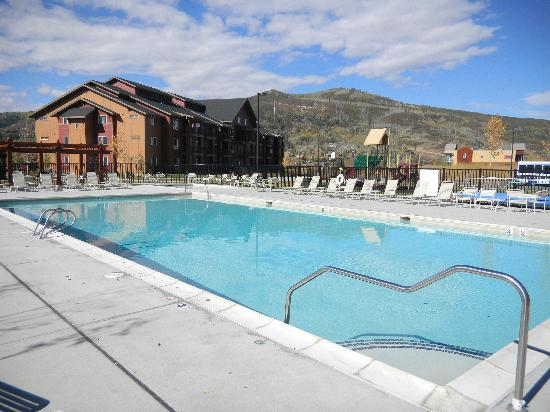 Wyndham Vacation Resorts Steamboat Springs: outdoor pool