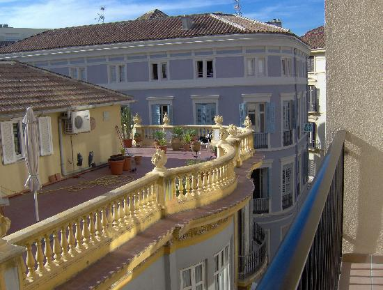 Don Curro Hotel: View from Room 312