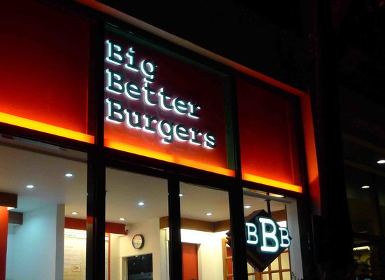 BBB Magnolia Robinsons (Big Better Burgers): the sign you should be looking for