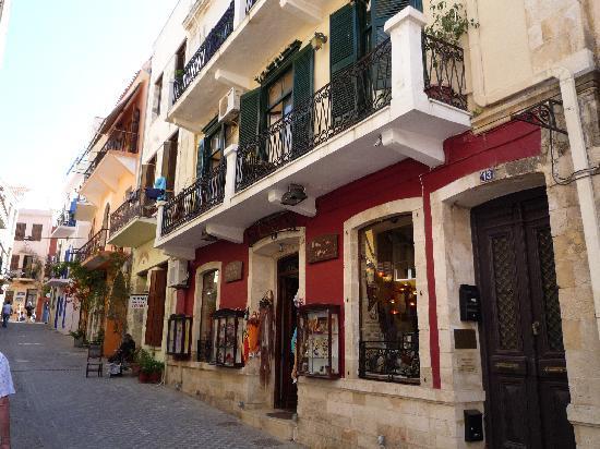 El Greco Hotel: Front of hotel