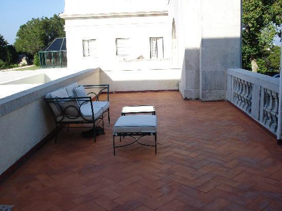 Tivoli Palacio de Seteais: Bedroom terrace
