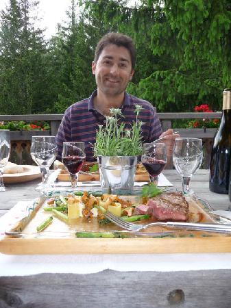 Les Chalets de Philippe: Delicious!