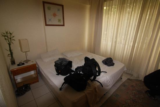 Kiwi Pension : Our room on the Ground floor