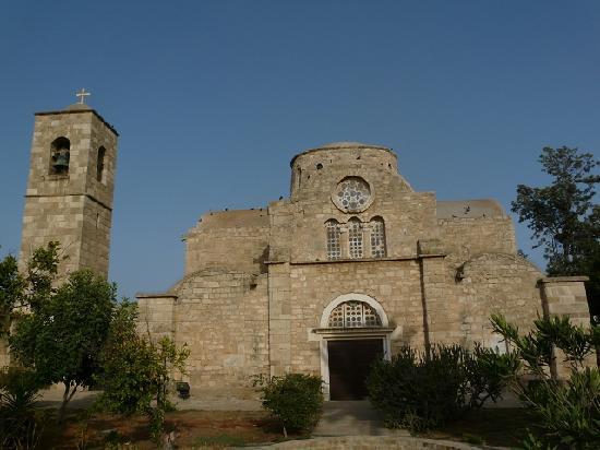 Famagusta, Zypern: Kirche des (ehemaligen) Klosters St. Barnabas im Nordteil Zyperns