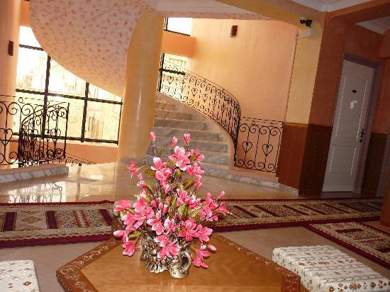 Le Raja Hotel: étage