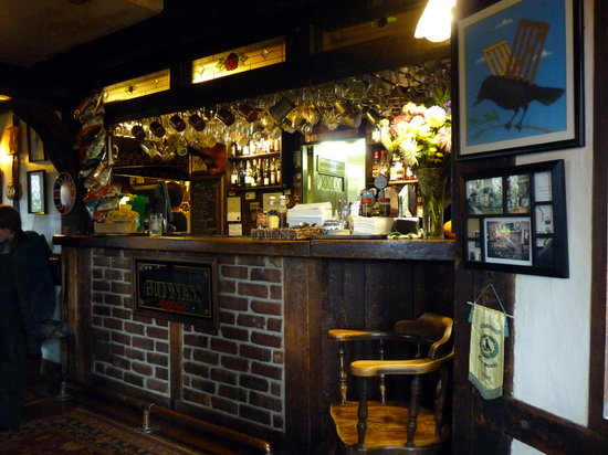 Crow & Gate Pub : Bar