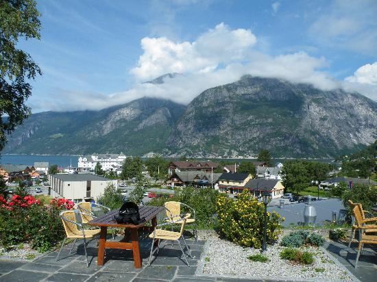 Eidfjord Fjell & Fjord Hotel: vista dalla camera...