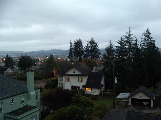 Aberdeen, WA: View from room at dawn