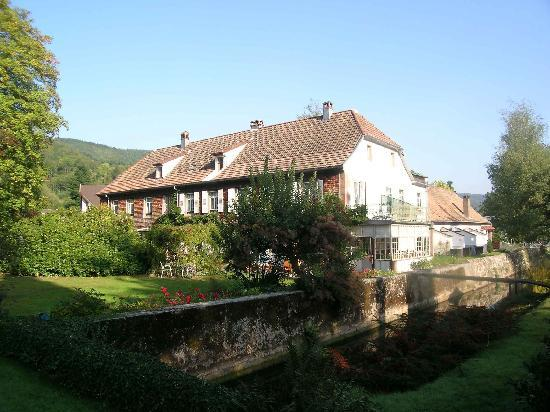 La Rubanerie : Blick auf das schönes Haus