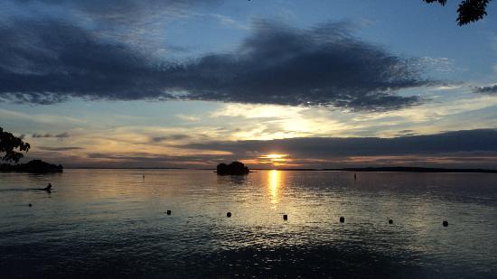 Isla del Pirata : El amanecer, desde mi suite