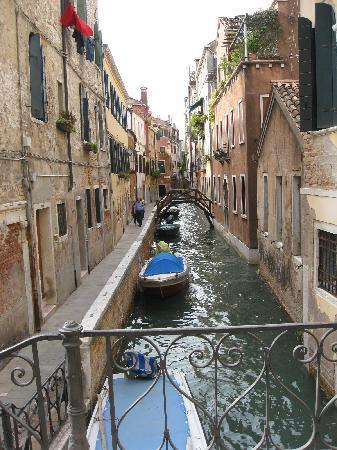Venice, Italy: One of many canals we expolred