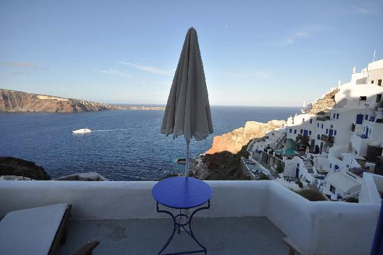View from VIP Suites, Oia, Greece