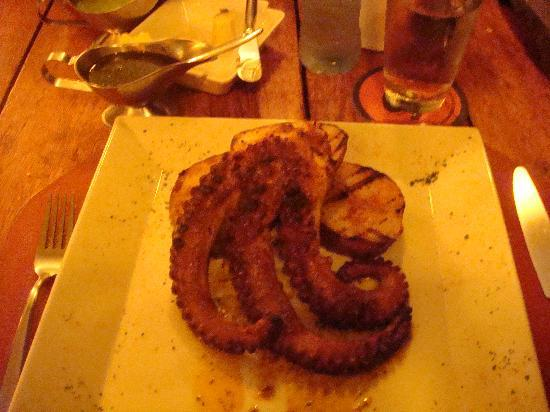 Puerto Madero Cancun : Grilled Octopus...very good