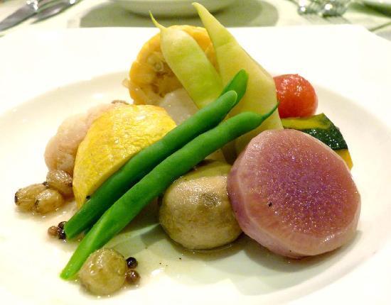 Auberge de Tefutefu: Delicious organic vegetables
