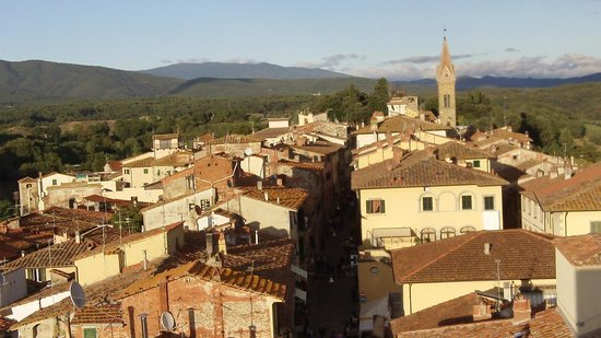 Borgo Santa Maria in Valle : From the tower of Laterina