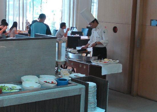 Taipung Suites: Frühstück