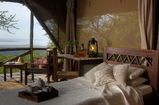 Kirurumu Manyara Lodge: a twin tent