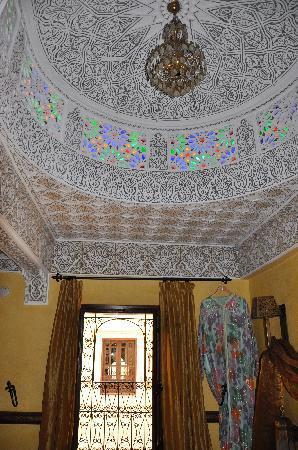 Riad Ibn Battouta: cette coupole... une pure merveille