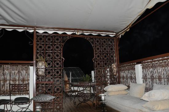 Riad Ibn Battouta: la terrasse