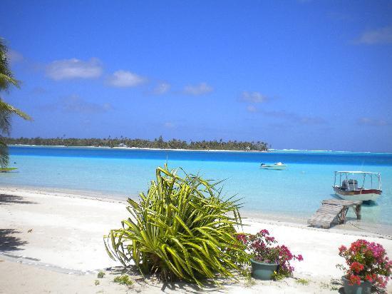 Pension Papahani: ..la spiaggia