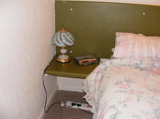 Wheyrigg Hall Hotel: not so stylish lamp