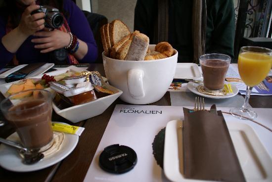Brasserie Agrea: la colazione