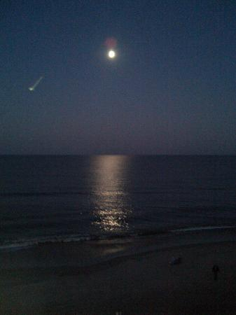 Surf Side Hotel Full Moon And Shooting Star Picture Of