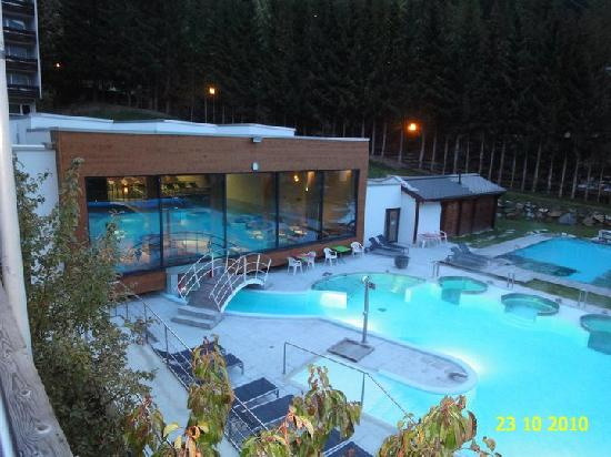 The Outdoor Heated Swimming Pool Of Hotel Mercure Bristol Leukerbad Picture Of Hotel Le