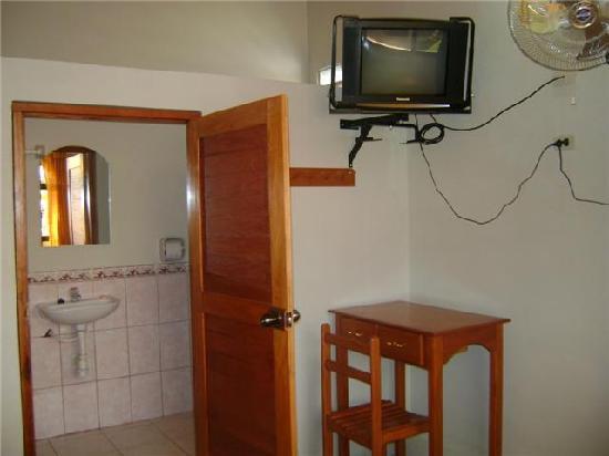 Hospedaje Punchana : Habitación acondicionada.