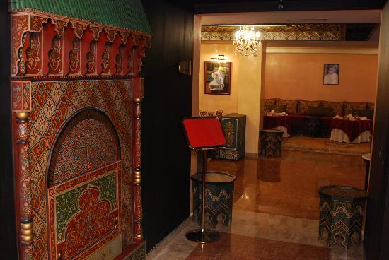 Hotel Anfa Port: Marocain