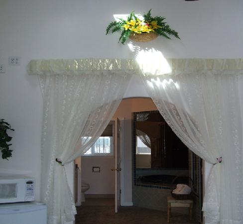 Rodeway Inn: Presidential Suite Bathroom Entrance